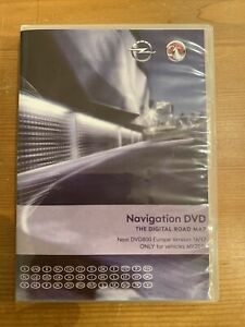 OPEL Europa Europe EU DVD 800 Astra J Insignia Meriva B 16/17 Navi Update MY2011