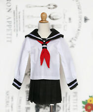 1/4 bjd MSD MDD Dollfie Dream Doll Clothes Outfit School Uniform dress b&w