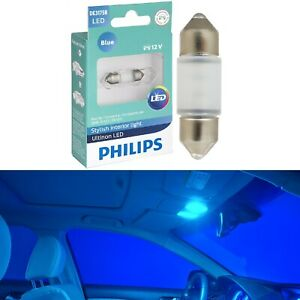 Philips Ultinon LED Light DE3021 Blue 10000K One Bulb Interior Dome Replace OE