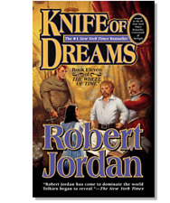 KNIFE OF DREAMS by Robert Jordan a paperback book FREE SHIPPING Wheel of Time 11