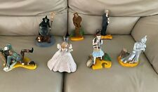 Complete Set of 7 Dave Grossman Wizard Of Oz Figurene Collection-Complete-Rare