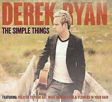 DEREK RYAN THE SIMPLE THINGS CD IRISH COUNTRY - NEW RELEASE 2014!!