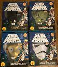 Ben Cooper Star Wars Yoda Stormtrooper C3PO Darth Vader Vacuform Mask Box Rubies