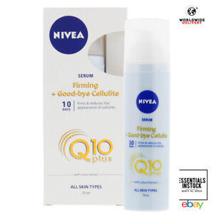 NIVEA Firming Good-Bye Cellulite Serum Q10 perfect for normal skin 1 X 75 ML