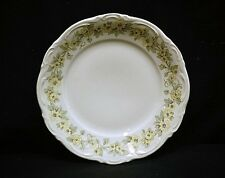 Old Vintage Mari by Mitterteich Bavaria Salad Plate Yellow Floral Border Germany