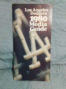 Los Angelos Dodgers 1980 Media Guide: Excellent Condition