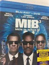 Men in Black 3 Blu-ray and Dvd 2012 2 Disc Set Will Smith New