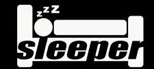 SLEEPER FUNNY SCION TOYOTA BMW JDM HONDA DRIFT WINDOW STICKER VINYL DECAL #093