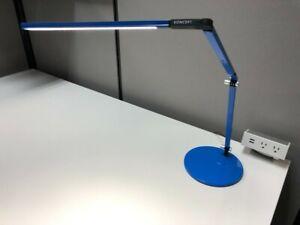 Koncept Z-Bar Blue Desktop Light with Integrated LED Boom Arm (AR3100)