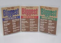 The 80's Biggest Country Hits, Vol. 1 2 3 by Various Artists (Cassette, MCA)