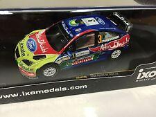 FORD FOCUS RS 07 WRC #3 Hirvonen-1st Jordan 2008 IXO RALLY 1:43 DIECAST- RAM326