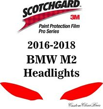 3M Scotchgard Paint Protection Film Pro Series Clear 2016 2017 2018 BMW M2 Coupe