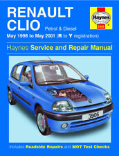 Renault Clio Gasolina Diesel May 1998-May 2001 Haynes Manual 3906