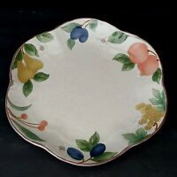 Mikasa Country Classics Fruit Panorama Scalloped Cake Plate More Pieces Avail