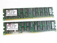 Kingston KTH-MLG4/8G 8GB DDR2 PC2-3200R 400MHz RAM ECC Server Memory Kit