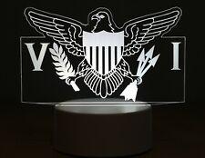 United States Virgin Islands 3D LED Night Light Table Desk Lamp Gift