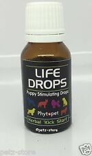 Life Drops Herbal Whelping kit kick start 10ml puppy stimulating life saver