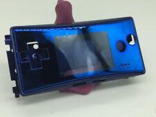 Full Housing Shell Case Cover for Nintendo Gameboy Micro GBM Blue