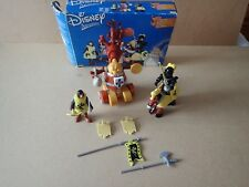 Famosa Disney Adventures Sword in the Stone Playset 2003 rare Knight
