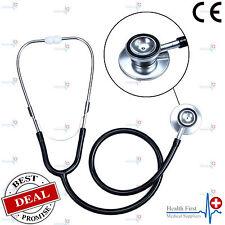 Pro Dual Head EMT Stethoscope for Doctor Nurse Vet Medical Student Health Blood