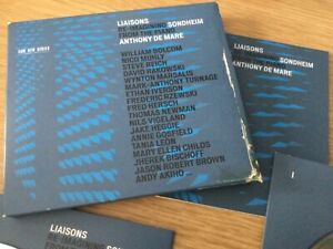 Cd 3 x album - Anthony de Mare – Liaisons – Re-Imagining Sondheim From The Piano