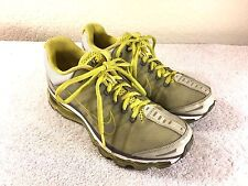Nike Air Max women's yellow gray running shoes size 7.5 Nice