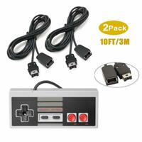 2PCS 10ft Controller Extension Cable Cord for Nintendo Mini NES Classic Edition
