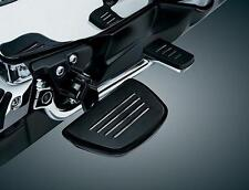 Kuryakyn Black Premium Mini Floorboards Comfort Drop Mounts Honda Goldwing 7564