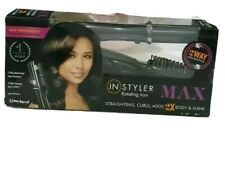 InStyler MAX black 32mm 2-Way Rotating Iron, Straightens, Curls adds Body&Shine