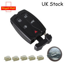 5 Button Remote Key Fob Case Service Kit + Battery For Land Rover Freelander 2