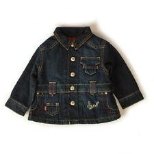 Baby Girls Levis Indigo Padded Denim Jacket