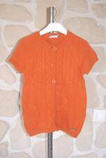 Gilet sans manches orange neuf taille 8 ans marque NUCLEO  (b)