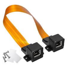 RJ45 Fensterdurchführung Flachkabel für Netzwerkkabel LAN extra dünn  Ethernet