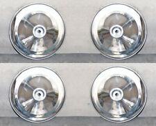 n°4 Coppe Borchie in Alluminio per Ruota FIAT 500 D N F R005