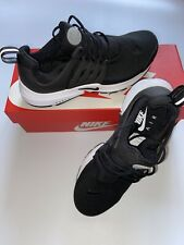 NIKE AIR PRESTO ESSENTIAL MENS UK SIZE 5.5 TRAINERS BLACK / WHITE TICK LOGO BNIB