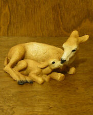 Animal Figurines by Castagna #229 Doe & Fawn Nuzzling, From Retail Store Nib