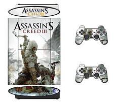 Assassins 211A Skin Sticker PS3 PlayStation 3 Super Slim and 2 controller skins