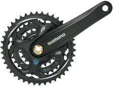 Shimano Altus M311 7/8-Speed 175mm 22/32/42t Square Crankset, Black