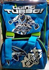 Zaino estensibile Max Steel blu Seven