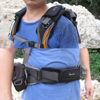 2pc Padded Shoulder Strap Belt Cushion for Outdoor Backpack Sling Waist Bag