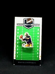 Green Bay Packers Bart Starr lapel pin-Classic CHEESE Collectible-HOF 1977