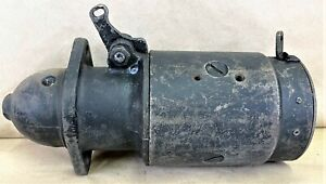 USED OEM 3582 ORIGINAL DELCO REMY STARTER 1107626 FITS 1955-56 CHEVY BEL AIR 235