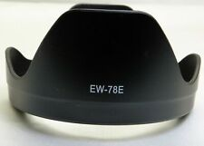 USA EW-78E Camera Lens Hood For Canon EOS EF-S 15-85mm f/3.5-5.6 IS USM Lens