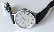 Vintage Men's LONGINES Flagship Mechanical Watch. 33mm Silver Dial.