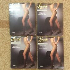 4a33dece4fd 4 pairs Levante tights with slimming brief. Size 2 Medium. Color Moka. Italy