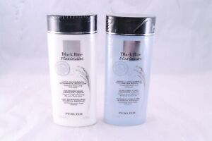 Perlier Black Rice Platinum Absolute Youth Cleansing Milk & Tonic Set New 6.7 oz