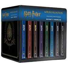 Harry Potter 8 Film Complete Collection Movies Series Steelbook Boxed BluRay Set