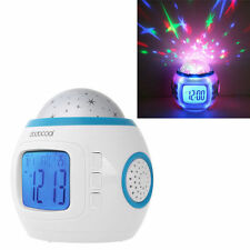 Colorful Music Starry Star Sky Projection projector with Alarm Clock Calendar