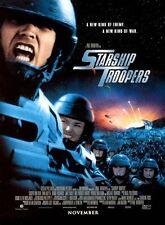 Starship Troopers Casper Van Dien SciFi Rolled Original D/S 27x41 Movie Poster