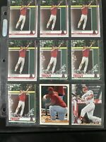 9x Lot  Mike Trout 2019 Topps Holiday #HW31  Angels #100 Spring Has Spung